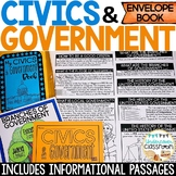 Civics & Government Envelope Book Kit