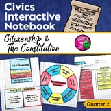 Civics & Government Interactive Notebook Citizenship & the U.S. Constitution