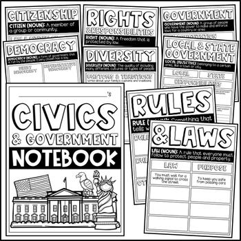 Civics & Government Notebook