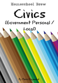 Civics (Government Personal / Local) (Kindergarten Grade Social Science Lesson)