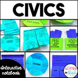 Civics & Government - Social Studies Interactive Notebook