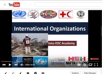 International Organizations - Civics EOC