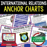 Foreign Affairs Anchor Charts, Posters, Civics Anchor Charts