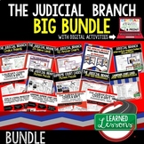 Civics Judicial Branch of Government BUNDLE (Civics & Government Bundle)
