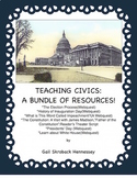 Civics! Learn About Our Government: A Bundle of Resources!