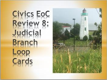 Civics Loop Cards: Judicial Branch