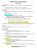 Civics Mock Election Directions and Rubric for Non-Election Year