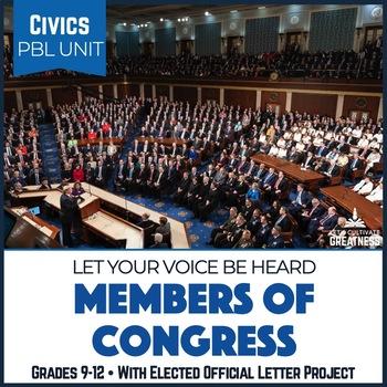 Civics PBL Mini Unit Civic Participation and Legislative Branch