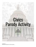 Civics Parody Activity with Rubric