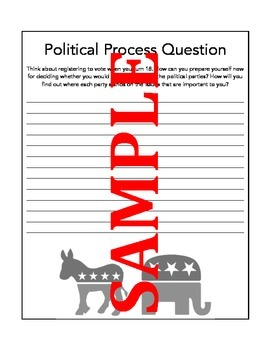 Civics Political Parties & Informed Voter Response