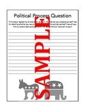 Civics Political Parties & Informed Voter Response