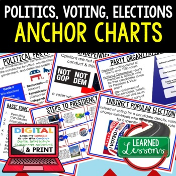 Civics Political Parties, Voting, and Elections Anchor Cha
