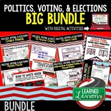 Civics Politics, Voting, and Elections BUNDLE (Civics & Government BUNDLE)