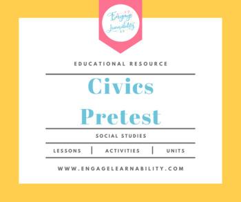 Civics Pretest / First Week Activity