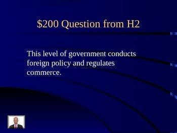 Civics Race 4 Jeopardy Game