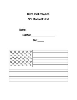 Civics Review Book Title Page