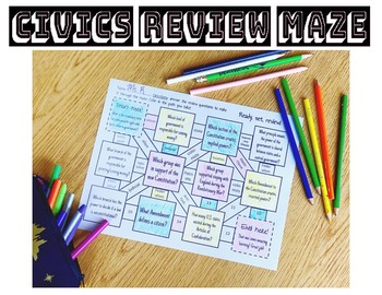 Civics Review Maze