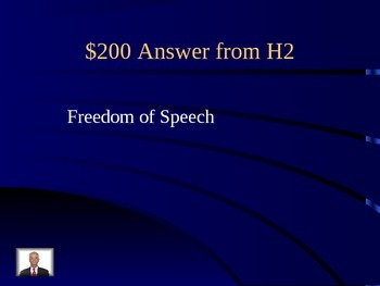 Civics SOL CE 3 Jeopardy Game