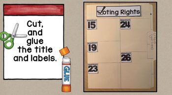 Civics Scrapbook SS5CG1 Bill of Rights, Voting & Civil Rights Amendments