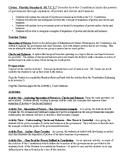 Civics - Separation of Powers - Checks and Balances . SS.7.C.1.7