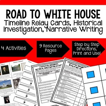 Civics Sequencing & Writing Activities BUNDLE (Paper and Google Drive Versions)