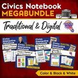 Civics & U.S. Government MEGA BUNDLE Digital & Paper Interactive Notebook