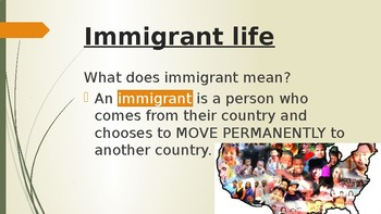 Civics: Unit 1 Day 1 Immigration in America Powerpoint
