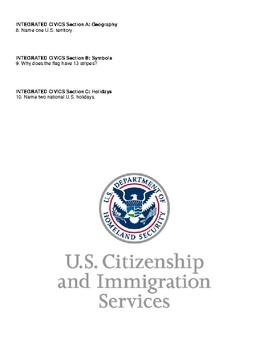Civics: Unit 1 Mock Citizenship Test
