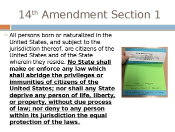Civics Unit 10 Day 6 Changing Precedents