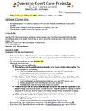 Civics Unit 10 Supreme Court Case Project