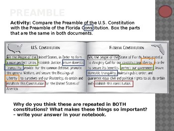 Compare Constitutions Worksheets Teaching Resources Tpt