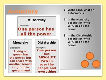 Civics Unit 12 Day 1 Government Structures