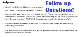 Civics- Unit 2 Branches of Government !!