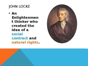 Civics: Unit 2 Day 3 John Locke
