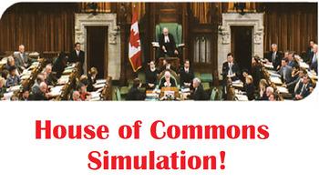 Civics- Unit 2- House of Commons DEBATE!