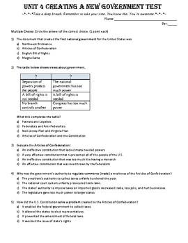 Civics Unit 4 Test