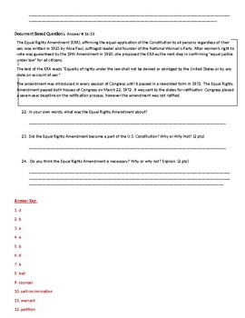 Civics Unit 6 Test