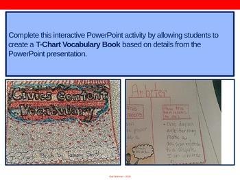 Civics Vocabulary PowerPoint