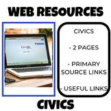 Civics  Web Tools and Resources