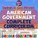 Civics and American Government Curriculum Bundle