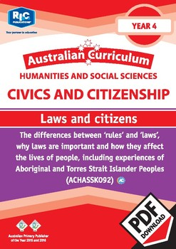 Civics and Citizenship: Laws and citizens – Year 4
