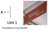Civics and Economics Unit 1: Foundations of Democracy