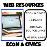 Civics and Economics Web Tools and Resources