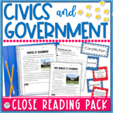 Civics and Government Close Reading