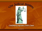 Civics and Government: Judicial System PowerPoint presentation