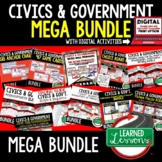 Civics Mega Bundle,  Government MEGA BUNDLE (Civics & Gove
