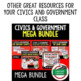 Civics and Government MEGA BUNDLE Pacing Guide/ Scope and Sequence FREE