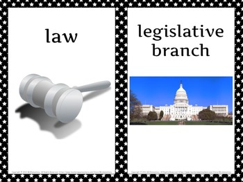 Civics and Government Vocabulary PowerPoint