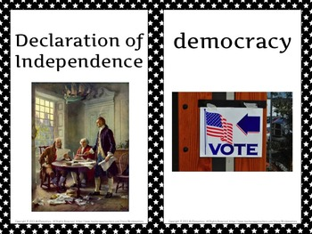 Government and Civics Word Wall Posters