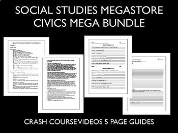 Civics and US Government Mega Bundle